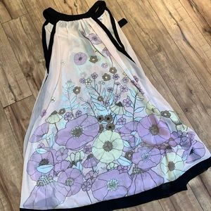Floral swim cover up